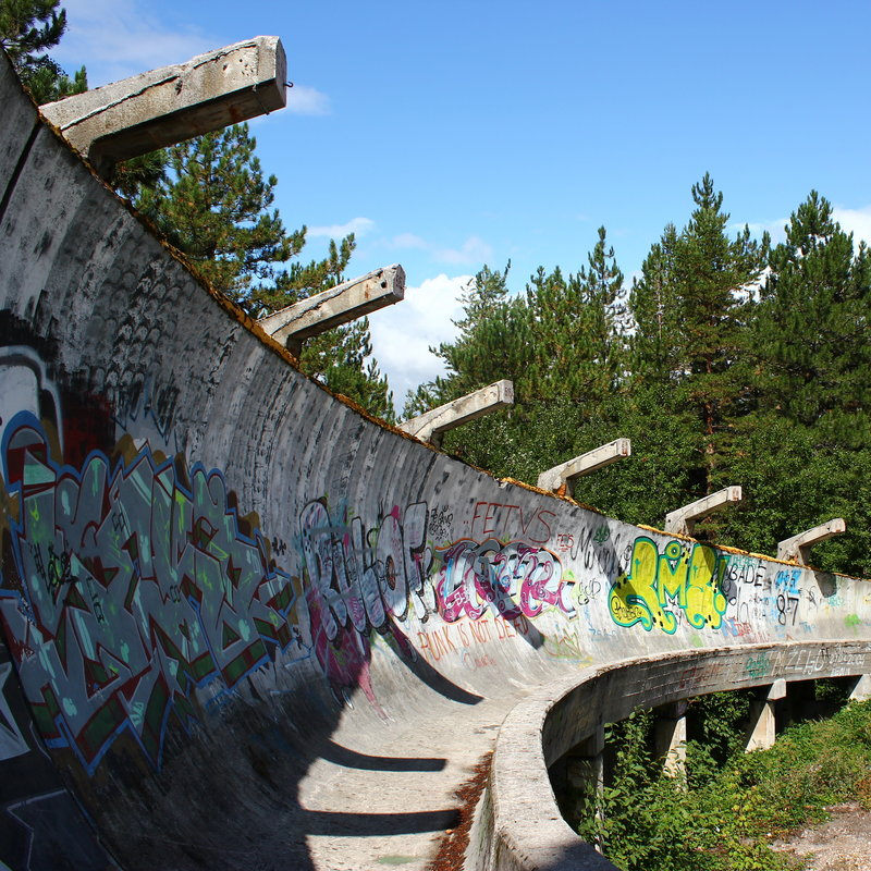 6 Abandoned Olympic Venues You Can Still Visit