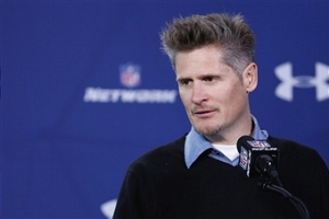 Thomas Dimitroff at the NFL Combine. (Photo Credit: Joe Robbins/Getty Images Sport)