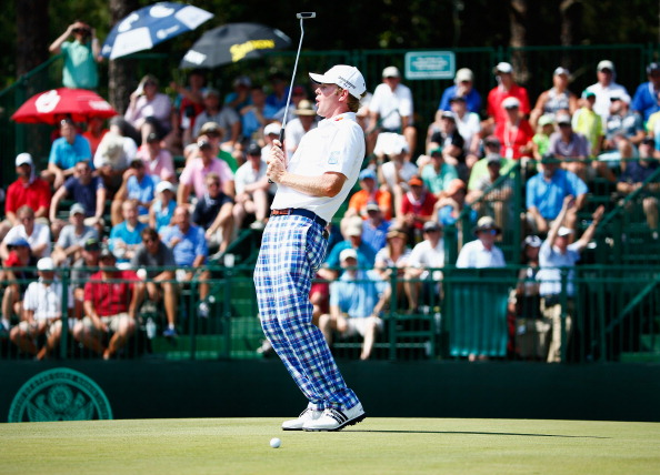 Brandt Snedeker during the third round of the 114th U.S. Open. (credit: Sam Greenwood/Getty Images)