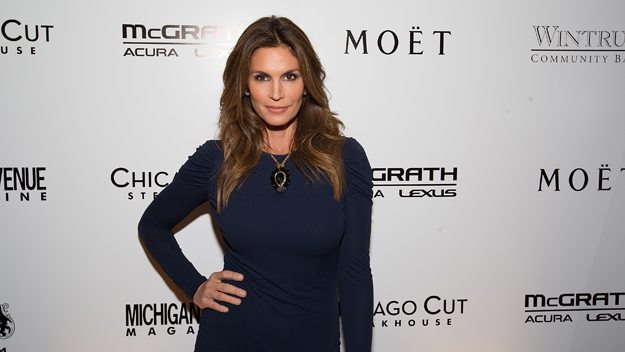 Cindy Crawford (Photo by Jeff Schear/Getty Images)