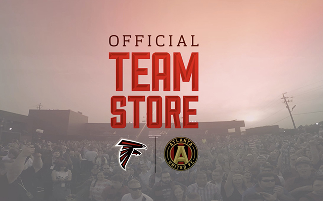 lowest price aa0cb 6752f Atlanta Falcons And Atlanta United Team Store Grand Opening ...
