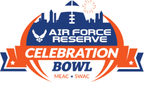 The new Historically Black Colleges and University postseason football bowl, will feature North Carolina A and T University, and Alcorn State University. Logo Courtesy of the Air Force Reserve Celebration Bowl