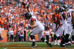 The injury to center Alex Mack #51 is a concern. (Photo by Justin Edmonds/Getty Images)